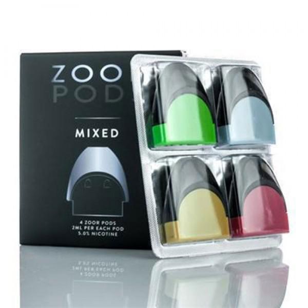 7Daze Zoor Salt Nic Pods MIXED FLAVORS 4-Pack