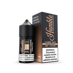 Vanilla Almond Tobacco by Humble Juice Co. Salts 30ml
