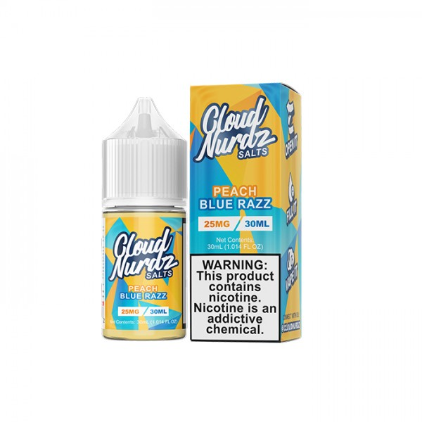 Peach Blue Razz by Cloud Nurdz Salts - 30ML