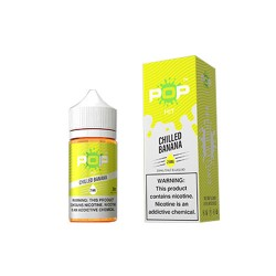 Pop Hit Salt Nic Chilled Banana 30mL