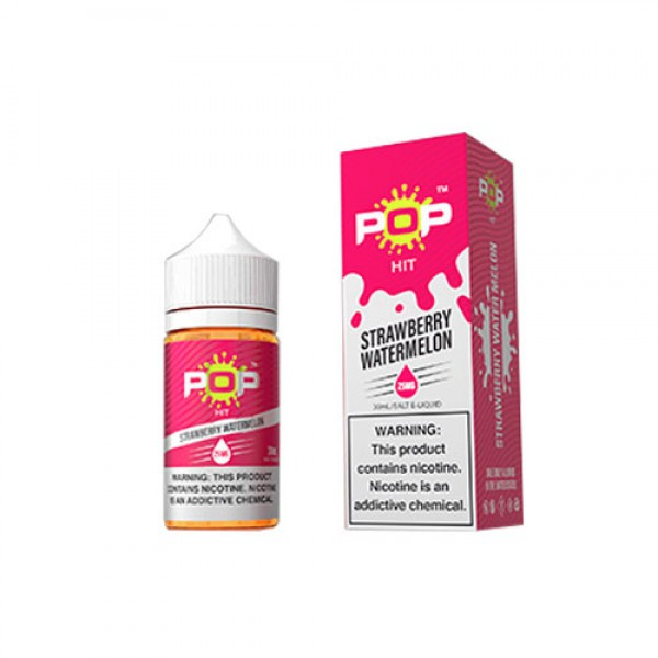 Pop Hit Salt Nic Strawberry Watermelon 30mL